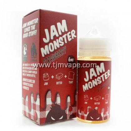 JAM MONSTER STRAWBERRY 100ML 6MG 12MG