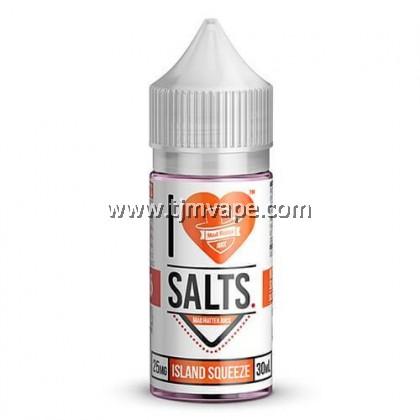 VAPEMADHATTER-I LOVE SALT ISLAND SQUEEZE 30ML
