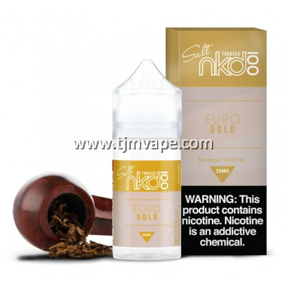 NAKED 100 SALT EURO GOLD 30ML 35MG 50MG