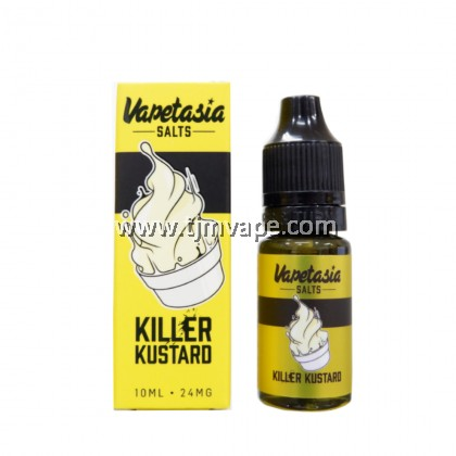 VAPETASIA SALTS KILLER KUSTARD 10ML 24MG 48MG