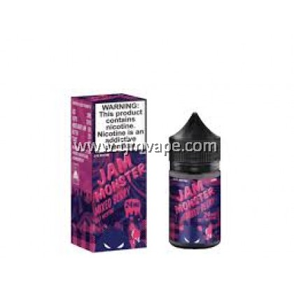 JAM MONSTER SALT MIXED BERRY 30ML 24MG 48MG