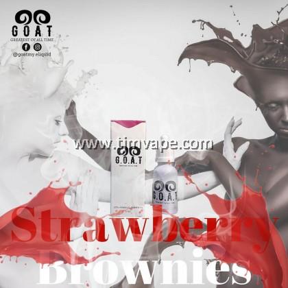 G.O.A.T STRAWBERRY BROWNIES 30ML 6MG 12MG