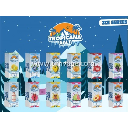 TROPICANA SALT ICE SERIES COLA CANDY 15ML 35MG 50MG
