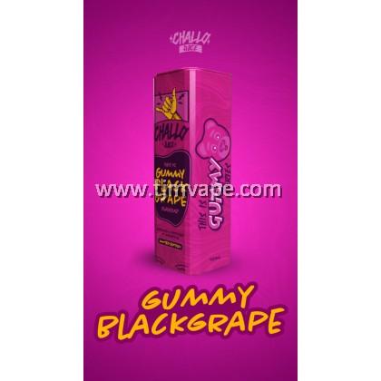 CHALLO SALT GUMMY BLACK GRAPE 10ML 35MG 50MG