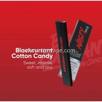 NASTY FIX DISPOSABLE POD BLACKCURRANT COTTON CANDY
