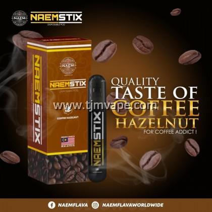 NAEMSTIX DISPOSABLE POD COFFEE HAZELNUT 1200 PUFF