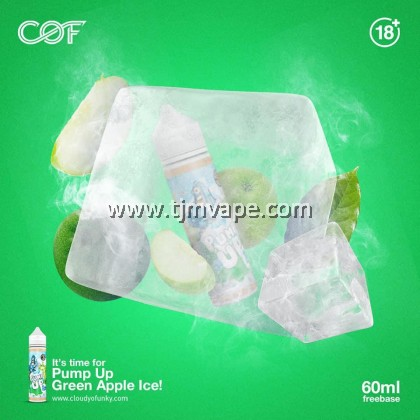COF PUMP UP GREEN APPLE ICE 60ML 6MG